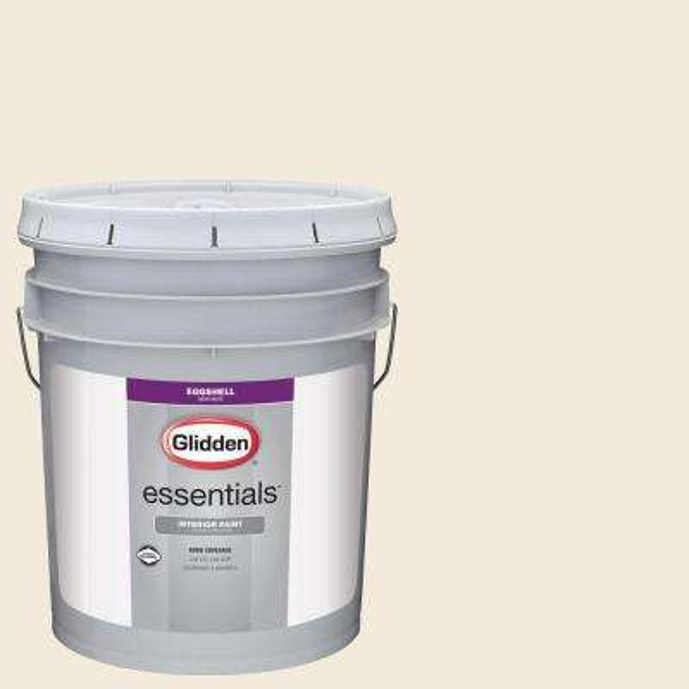 5 gal. #HDGWN41U Swiss Coffee Eggshell Interior Paint