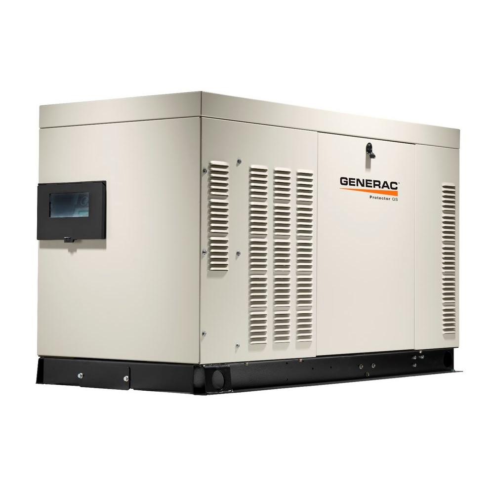 Generac 27,000-Watt 120-Volt/240-Volt Liquid Cooled Standby Generator Single