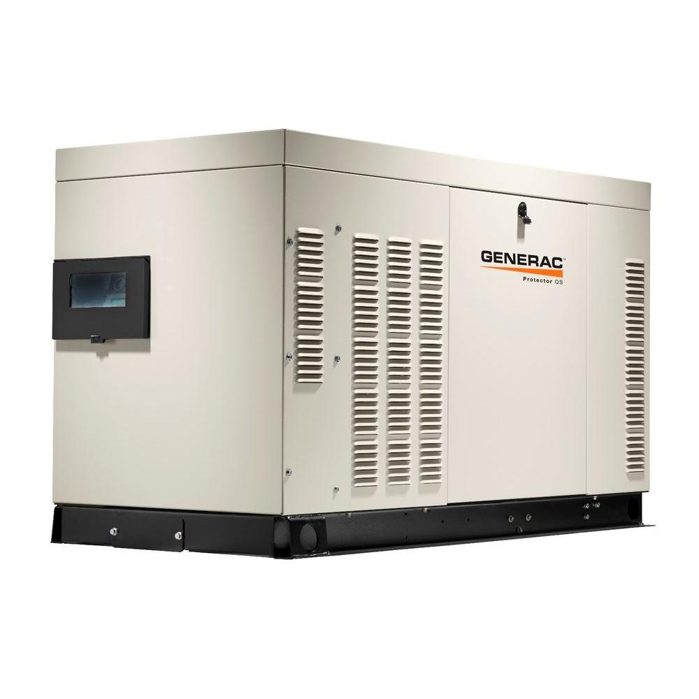 27,000-Watt 120-Volt/240-Volt Liquid Cooled Standby Generator Single Phase with Aluminum Enclosure