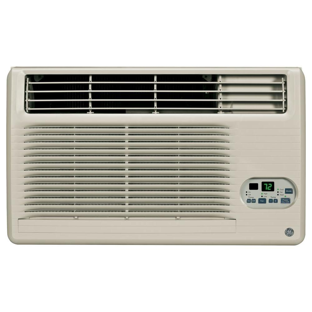 ge 11,800 btu 230/208-volt through-the-wall air conditioner with