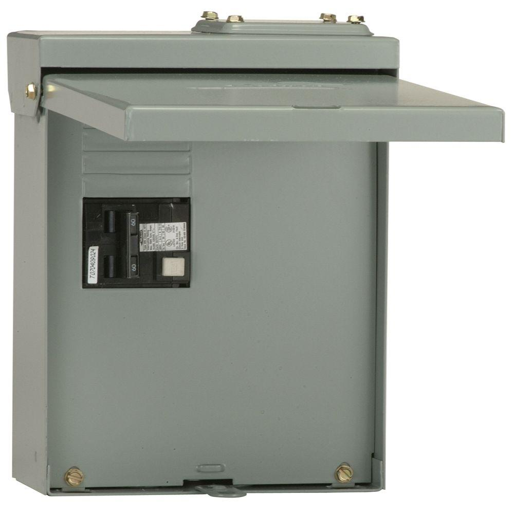 GE 60 Amp GFI Spa Panel