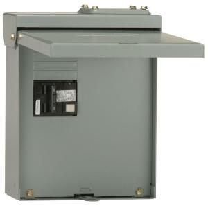GE 60 Amp GFI Spa Panel UG412RMW260P The Home Depot