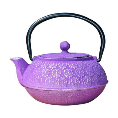 Cherry Blossom 2.75-Cup Teapot in Plum