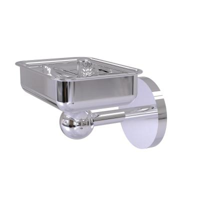 Skyline Collection Wall Mounted Soap Dish in Polished Chrome