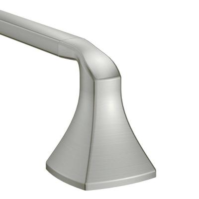 Voss 24 in. Towel Bar in Brushed Nickel