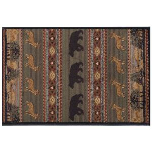 Tayse Rugs Nature Green 2 ft. x 3 ft. Accent Rug by Tayse Rugs
