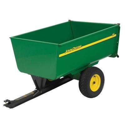 1,650 lb. 18 cu. ft. Tow-Behind Steel Utility Cart