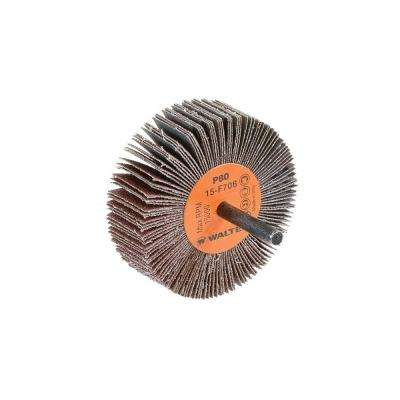 COOLCUT 3 in. x 1 in. GR:80 Sanding Flap Wheels