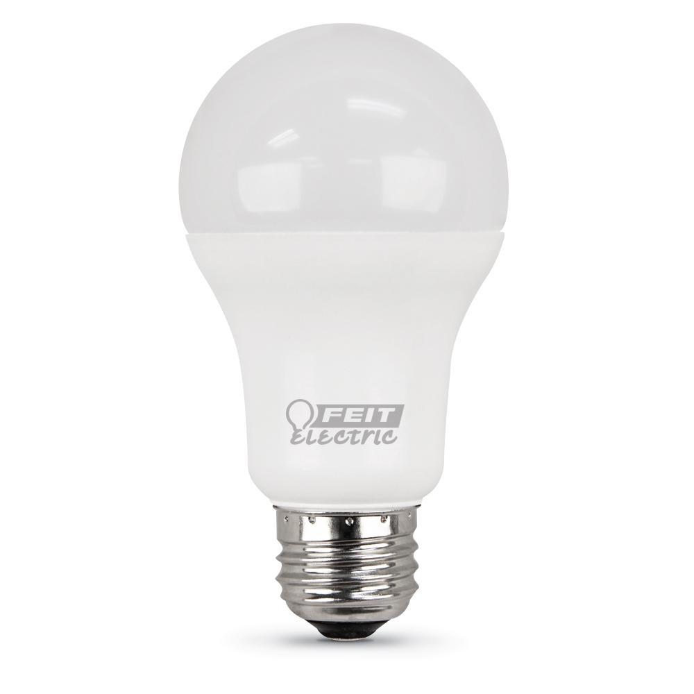 100-Watt Equivalent Soft White A19 LED Medium Base Light Bulb (Case of 24)