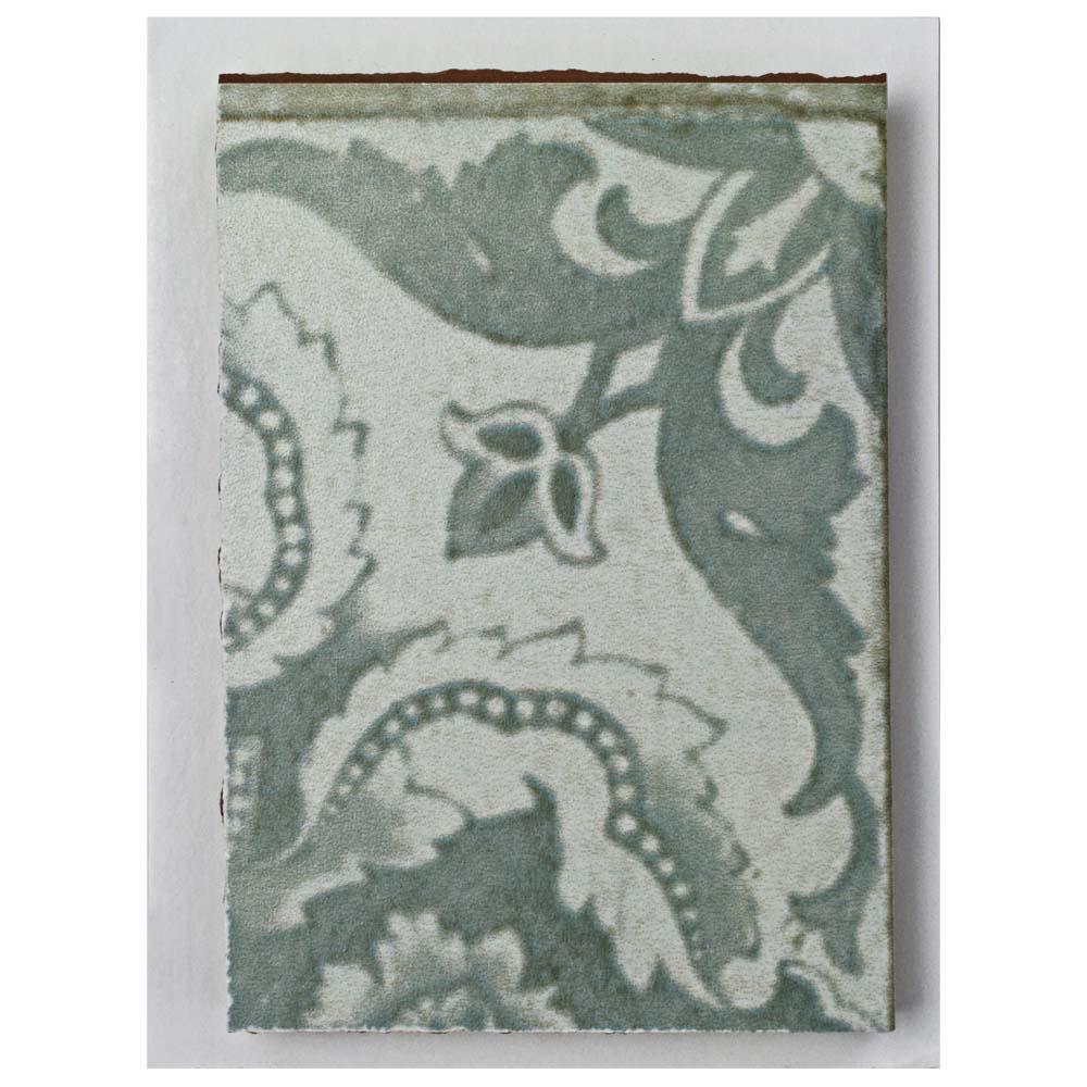 Kings Seagate Encaustic Ceramic Floor and Wall Tile - 3 in. x 4 in. Tile Sample