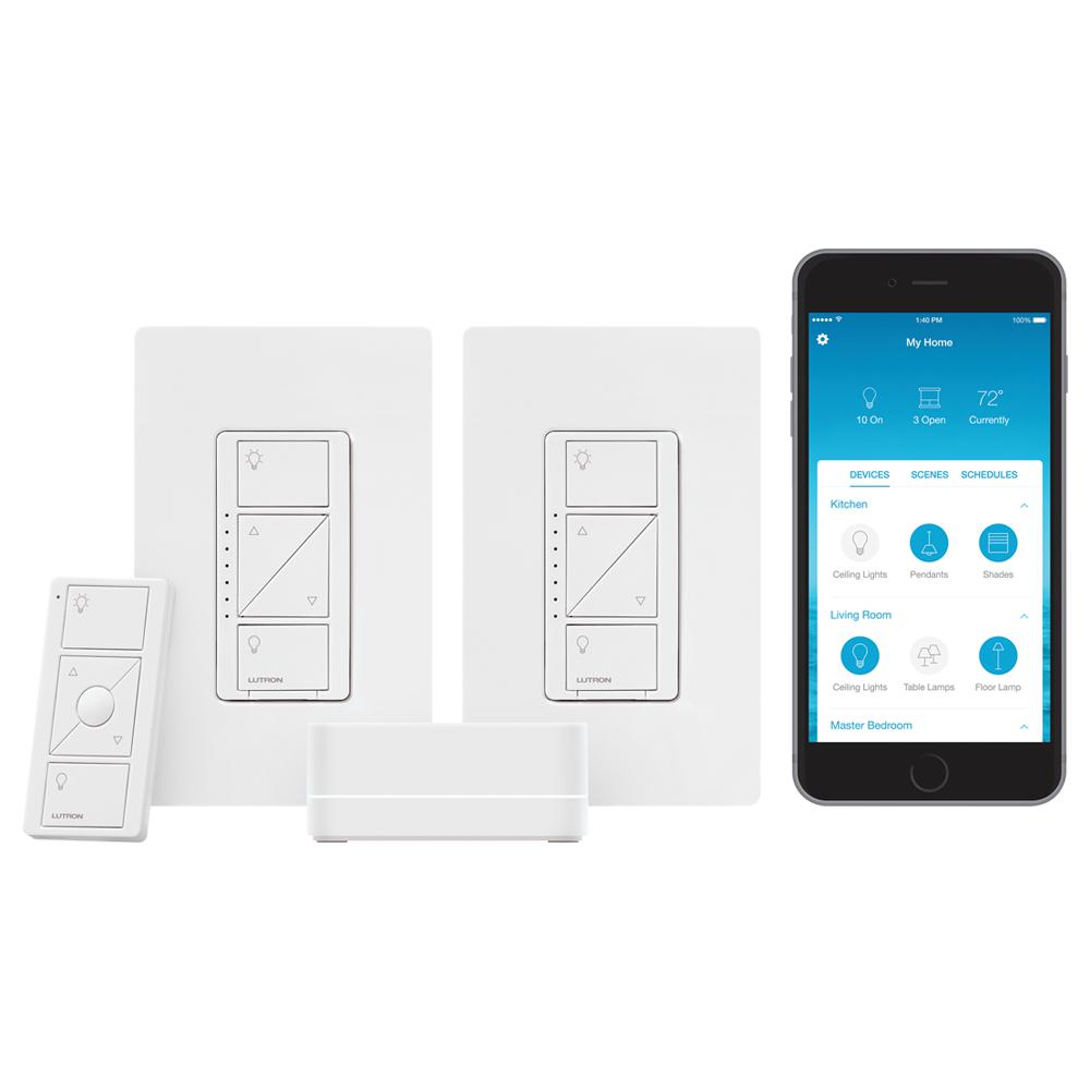Lutron Caseta Wireless Smart Lighting Start Kit with Pico Remote and on 3 way dimmer wiring diagram, maestro dimmer switch, dual dimmer switch wiring diagram, dimmer switch installation diagram, fluorescent dimmer switch wiring diagram, harmony dimmer wiring diagram, lutron dimmer switches wiring diagram,