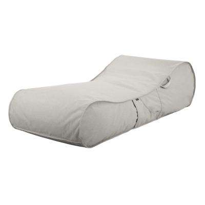 Montlake Heather Grey Outdoor Frameless Furniture Lounger