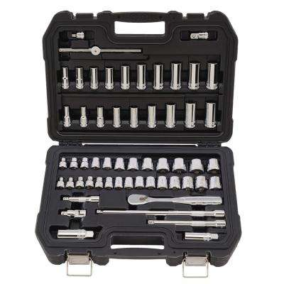 3/8 in. Drive Combination Socket Set (56-Piece)