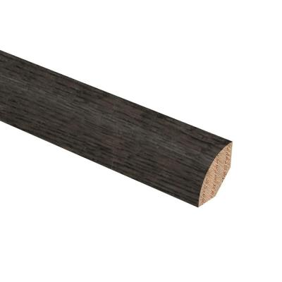 Oak Shale 3/4 in. Thick x 3/4 in. Wide x 94 in. Length Hardwood Quarter Round Molding