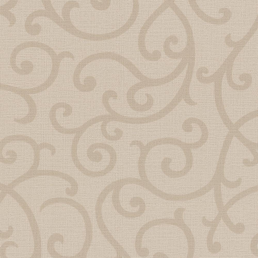 Silhouette Champagne Vine Wallpaper