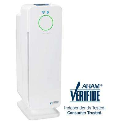 Smart Elite 4-in-1 True HEPA Purifier with UV Sanitizer, Odor Reduction and WiFi 22 in. Tower