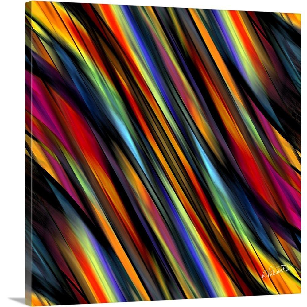 """Silky Square Diagonal"" by  RUPA Art Canvas Wall Art"