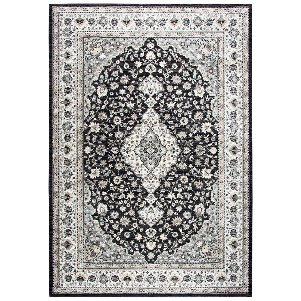 Rizzy Home Zenith Black Multi 10 Ft. X 13 Ft. Area Rug