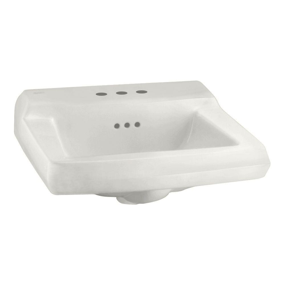 Comrade Wall-Mounted Bathroom Sink for Wall Hanger in White