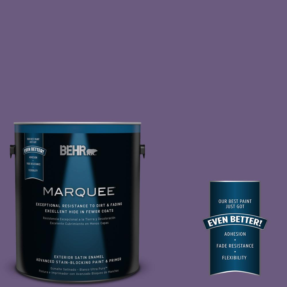 BEHR MARQUEE 1-gal. #M560-6 Napa Winery Satin Enamel Exterior Paint