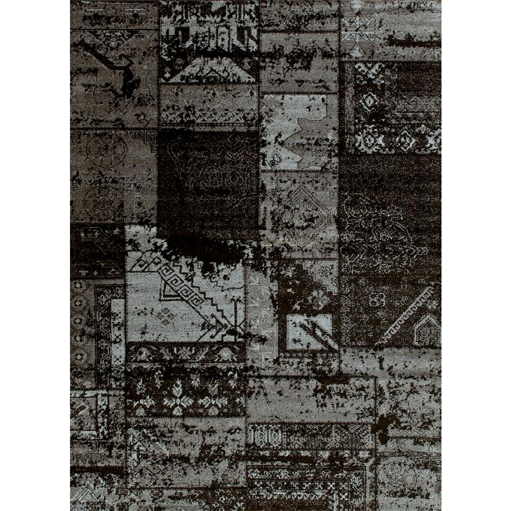 United Weavers Miranda Grey 5 ft. 3 in. x 7 ft. 2 in. Area Rug