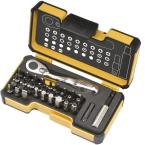 33-Piece Ratcheting 1/4 in. Bit Driver Set