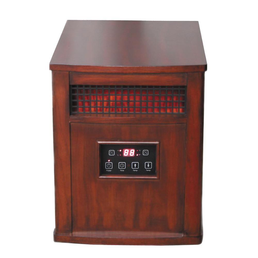 Comfort Glow 1200-Watt Infrared Quartz Portable Heater