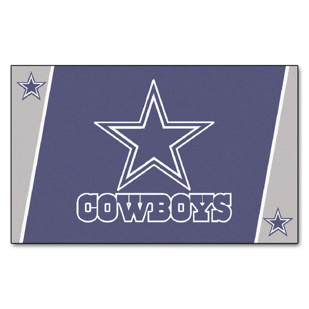 Fanmats Dallas Cowboys 4 Ft X 6 Ft Area Rug 6270 The