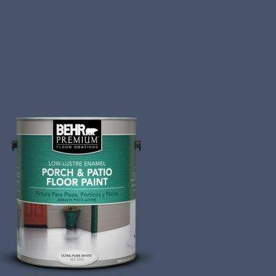 1 gal. #PFC-60 Deep Galaxy Low-Lustre Interior/Exterior Porch and Patio Floor Paint