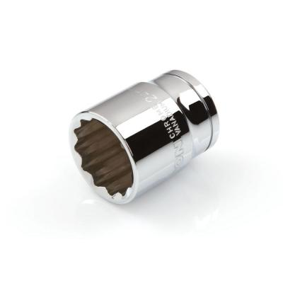 TEKTON 1/2 in. Drive 24 mm 12-Point Shallow Socket