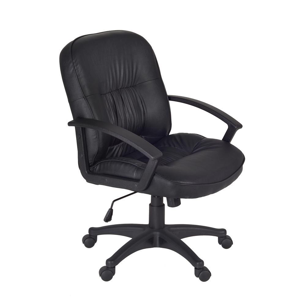 Stratus Black Swivel Chair