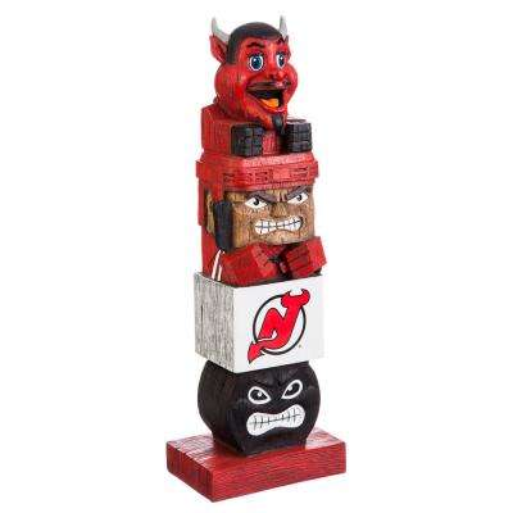 New Jersey Devils Tiki Totem Garden Statue