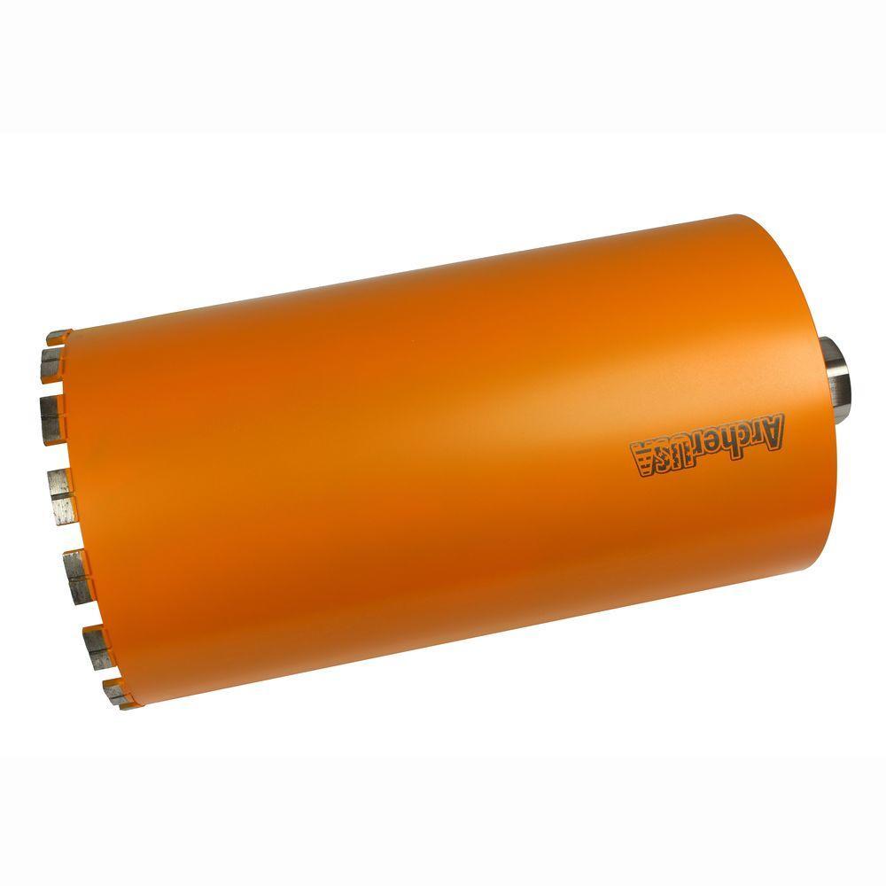 8 in. Diamond Turbo Core Drill Bit for Concrete Drilling