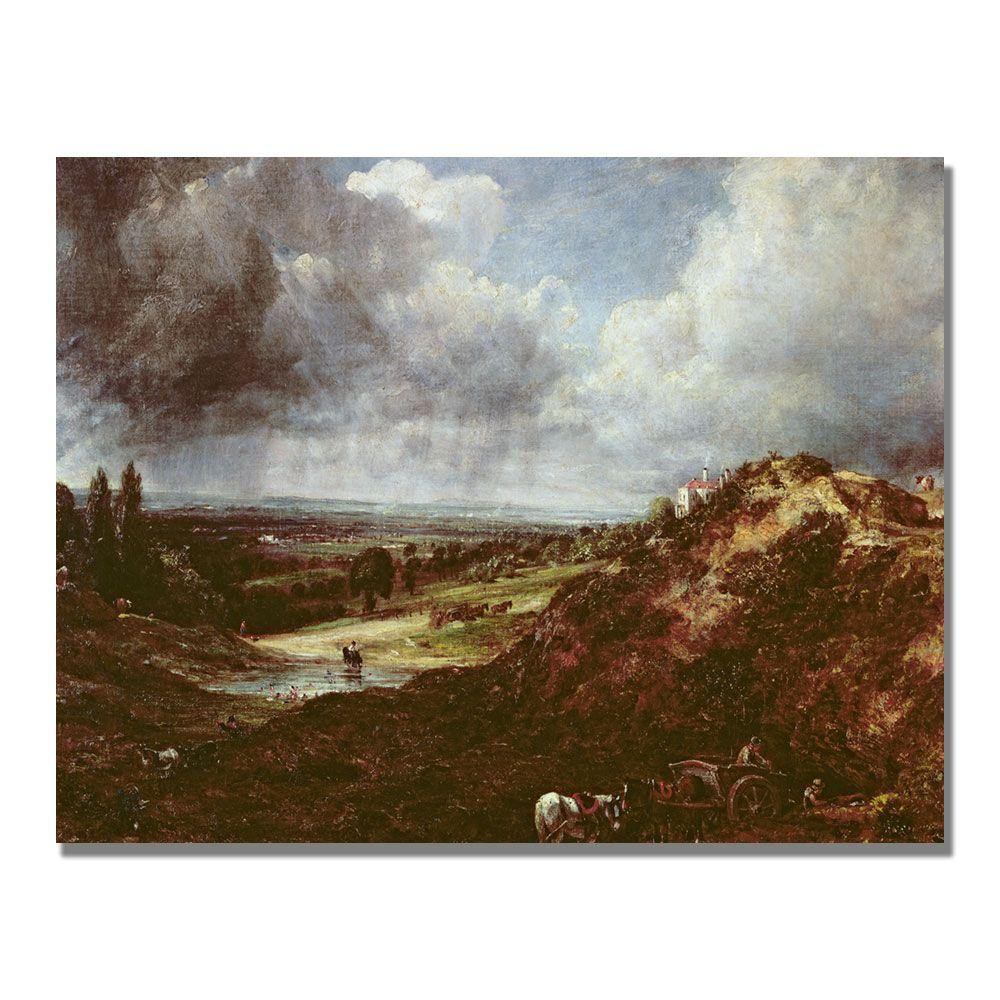24 in. x 32 in. Branch Hill Pond Canvas Art