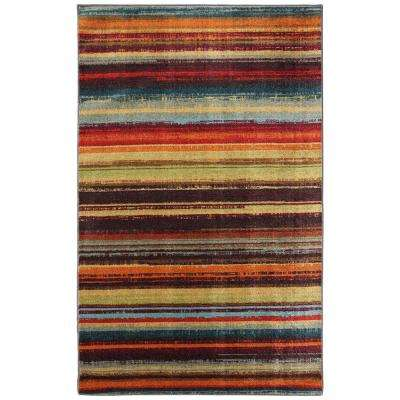 Boho Stripe Multi 6 ft. x 9 ft. Area Rug