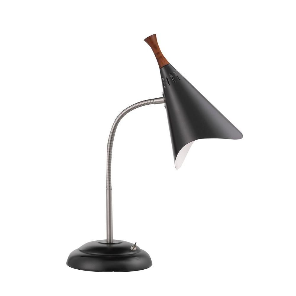 Delicieux Black Gooseneck Desk Lamp