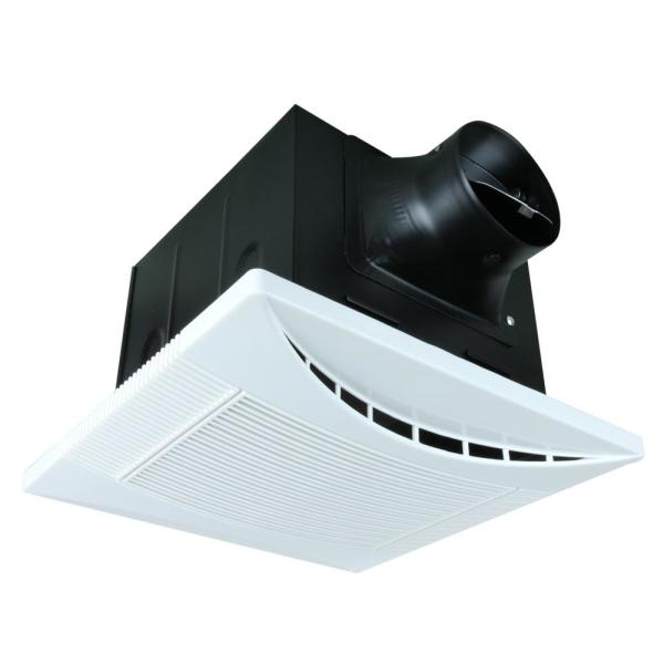 Akicon 110 Cfm Ceiling Quite Bathroom Exhaust Fan Energy Star Crescent110 Ak1424110a The Home Depot