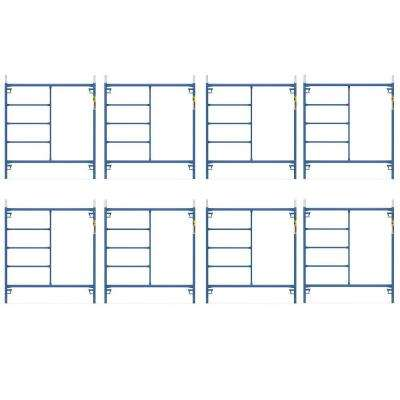 Saferstack 5 ft. x 5 ft. Mason Scaffold Frame (8-Pack)
