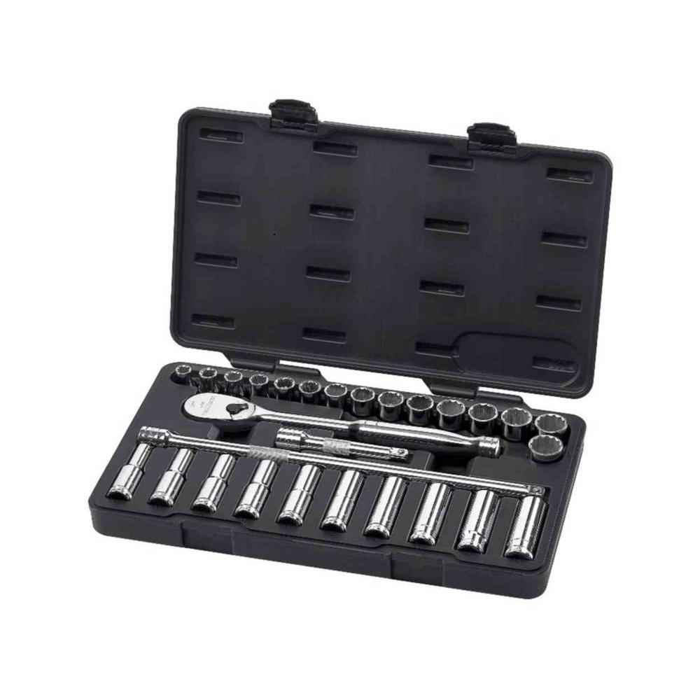 GearWrench 1/2 in. Drive Metric Socket Set (28-Piece)