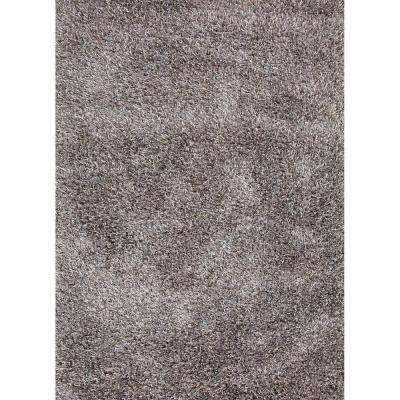Shag Timber Wolf 9 ft. x 12 ft. Solids Area Rug