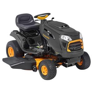 Poulan PRO 46 inch 20 HP V-Twin Briggs & Stratton Automatic Gas Front-Engine Riding Mower by Poulan PRO