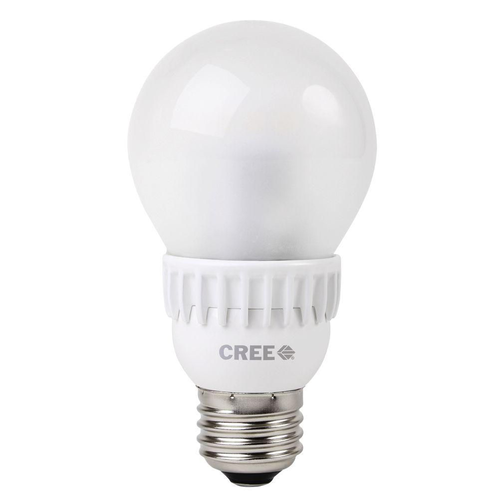 Cree 40W Equivalent Daylight (5000K) A19 Dimmable LED Light Bulb