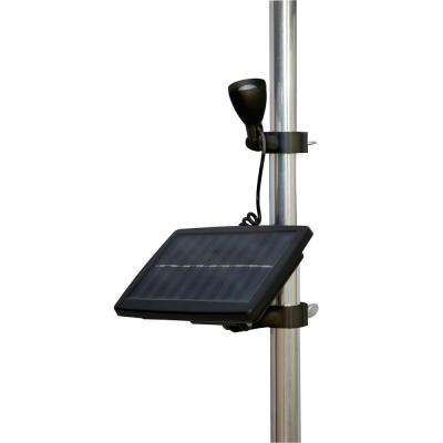 Solar Flagpole Micro-Light