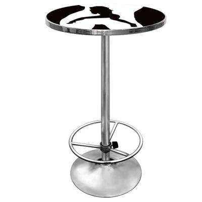 Shadow Babes C Series Black Pub/Bar Table