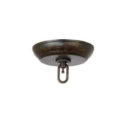 Hampton Bay FASTATTACH Bronze Chandelier Canopy Kit-DISCONTINUED