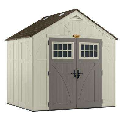 Tremont 7 ft. 1-3/4 in. x 8 ft. 4 - Plastic Sheds - Sheds - The Home Depot
