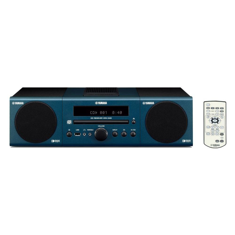 Yamaha Micro Hi-Fi System - Dark Blue-DISCONTINUED