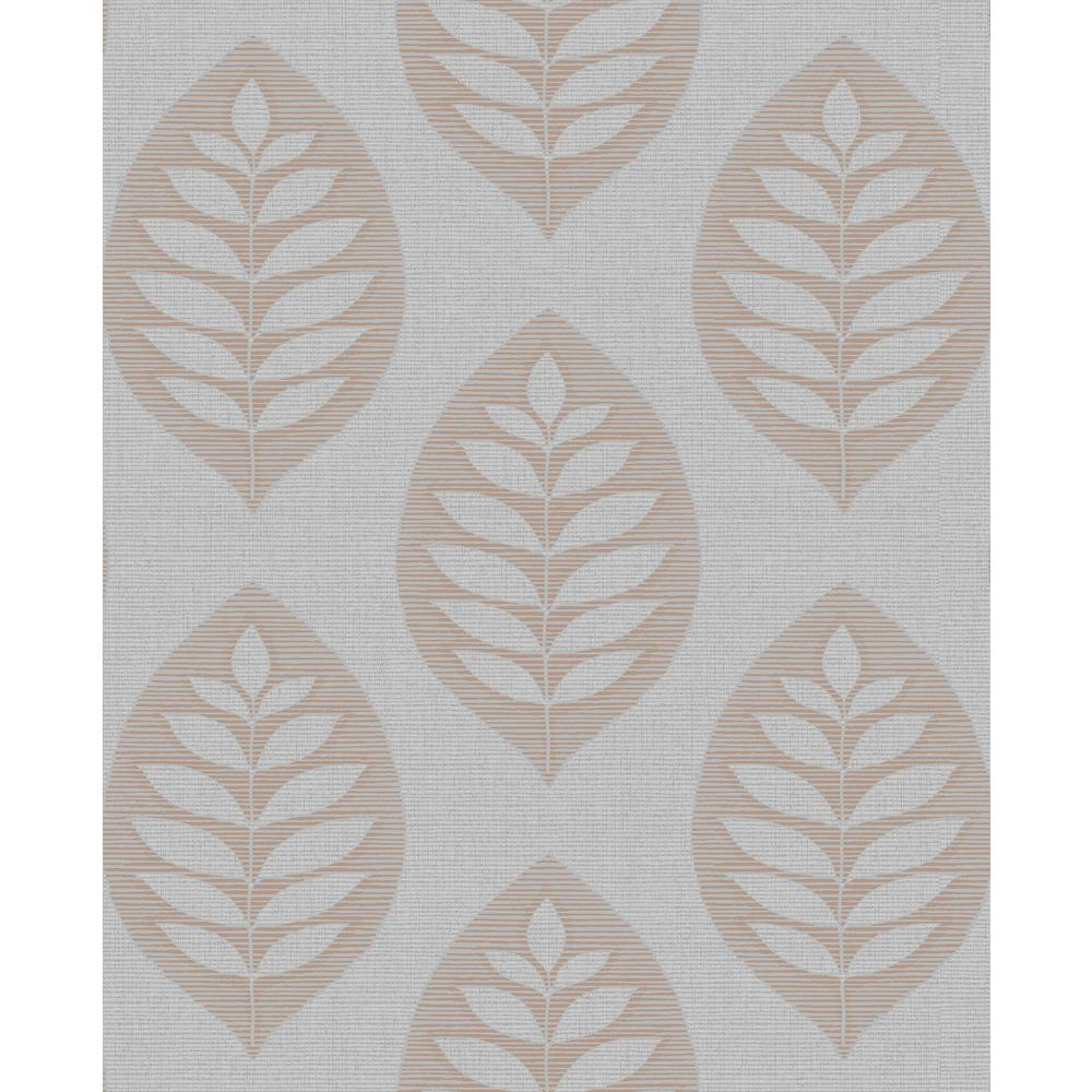 Harstad Grey Leaf Strippable Roll (Covers 56.4 sq. ft.)