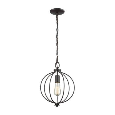 Williamsport 1-Light Oil Rubbed Bronze Pendant