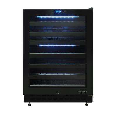 46-Bottle Dual Zone Touch Screen Wine Cooler